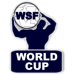 Λογότυπο World Strongman Federation (WSF)