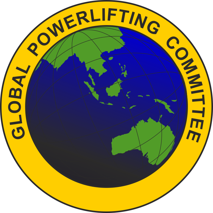 Λογότυπο Global Powerlifitng Committee (GPC)