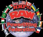 Λογότυπο 100% Raw Powerlifting