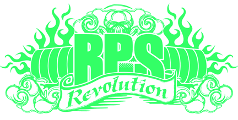 Λογότυπο Revolution Powerlifting Syndicate (RPS)
