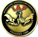 Λογότυπο International Armwrestling Federation (IAF)